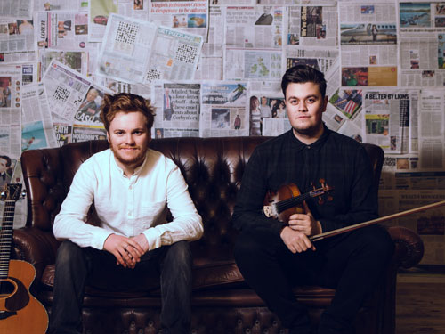 Greg Russell and Ciaran Algar at Bristol Folk Festival
