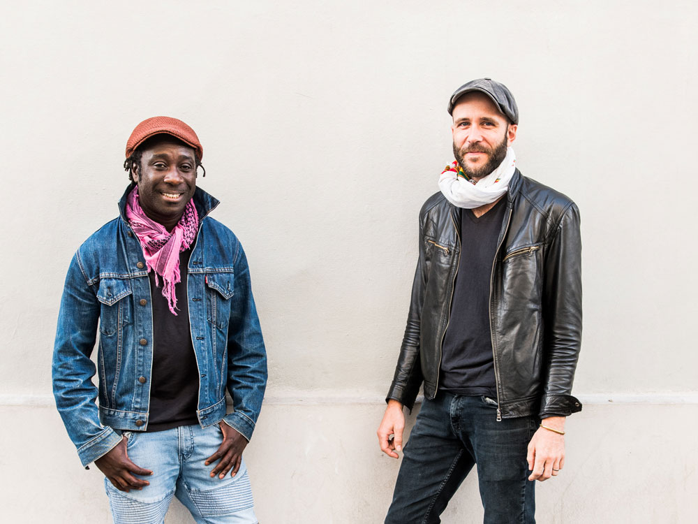 Amadou Diagne and Cory Seznec at Bristol Folk Festival